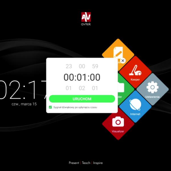 Monitor interaktywny oraz systemy telekonferencyjne